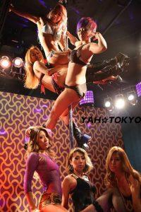 YAH☆TOKYO 筋肉 ポールダンス